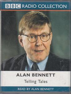 Telling-Tales-Alan-Bennett-2-Cassette-Audio-Book-Childhood-Snapshots-Monologue