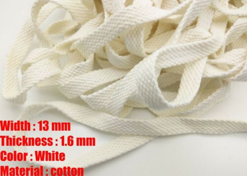 1//2/'/' wide TWILL BUNTING APRONS STRAP SEWING BAG WEBBING TAPE EDGING CRAFT BEIGE