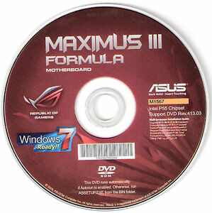 ASUS MAXIMUS III FORMULA IMSM DRIVERS FOR PC