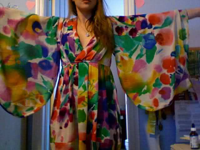 2X Utilisé H&M Jardin Collection Boho Kimono Robe Tunique Tunique Tunique Us 6 8 Ue 36 be9c3c