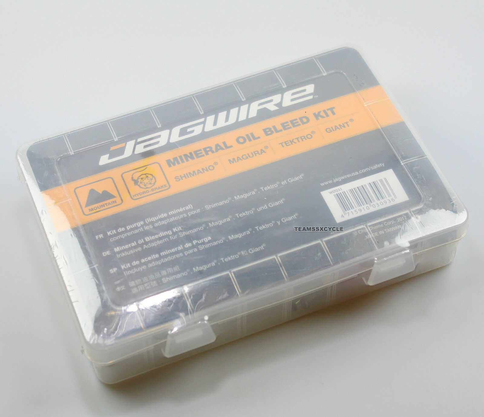 TEAMSSXNew Jagwire Mineral oil bleed kit for Shimano Magura Tektro, WST031