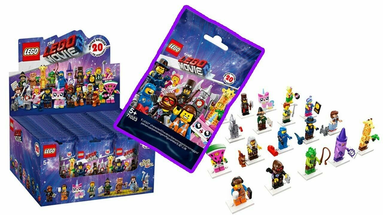 LEGO 71023 MOVIE 2 Minifigures Choose How Many Your Need 5 10 15 20 Blind Tasches