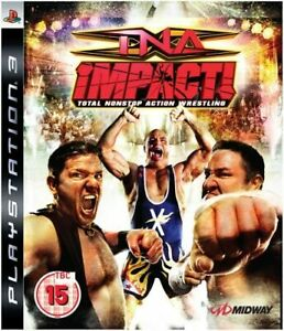 TNA Impact Wrestling NEW & SEALED UK PAL Sony Playstation 3 FREE DELIVERY!!