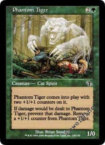 Green Judgment Mtg Magic Common 4x x4 4 FOIL Phantom Tiger