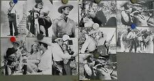F21305 FORT DOBBS CLINT WALKER INDIANS Collection 11 SPANISH 5x6 b/w photo Set