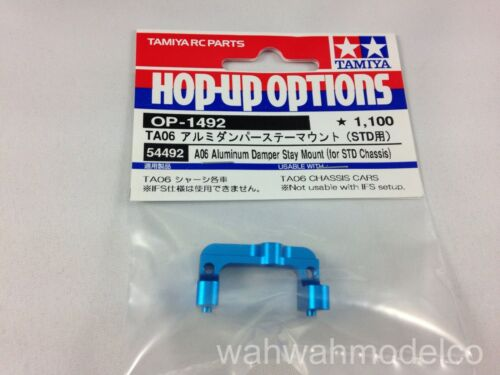 For STD Chassis Tamiya 54492 RC TA06 Aluminum Damper Stay Mount
