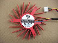 60mm ATI FirePro V5800 V5900 V7800  Fan Replacement 39mm 4P PLD06010B12HH 091-1