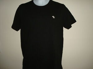 MEN-ABERCROMBIE-amp-FITCH-SHORT-SLEEVE-BLACK-T-SHIRTS-SIZE-M-NWT