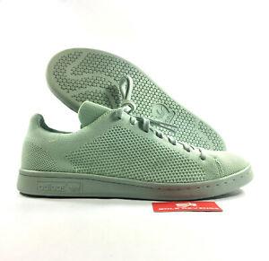 the best attitude fd210 b4ea7 Details about New adidas Originals STAN SMITH PRIMEKNIT SHOES Vapour Green  adicolor S80066 s1