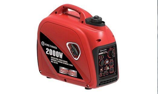King Canada Tools KCG-2001i 2000W Gasoline Digital Inverter Generator Génératric