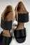 Indexbild 10 - Prada Iconic Retro Satin Sandals Shoes Slingback Schuhe Peep Open Toe Pumps 39