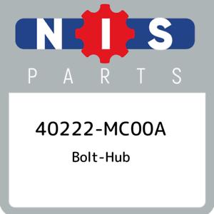 40222-MC00A-Nissan-Bolt-hub-40222MC00A-New-Genuine-OEM-Part