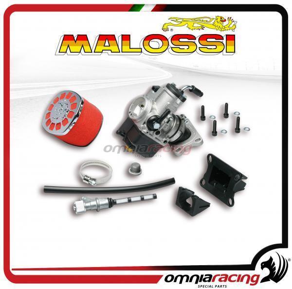 Malossi sistema alimentación PHBH 26+válvula laminar Derbi 50 senda/GPR 50