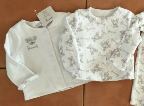 Harrods Bear Boys or Girls Reversible Jacket BNWT in 5 sizes or romper
