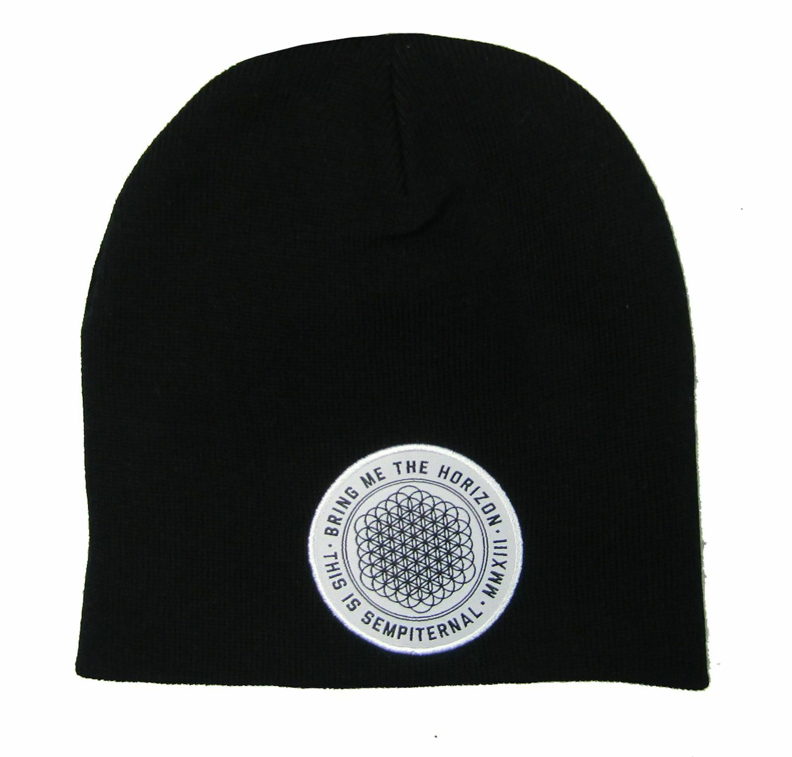 Bring Me the Horizon Sempiternal Black Beanie Hat NEW and OFFICIAL