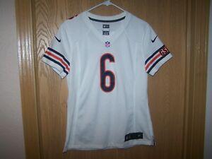 Details about Women's MEDIUM Jay Cutler Chicago Bears Alternate White Nike Game Jersey NFL