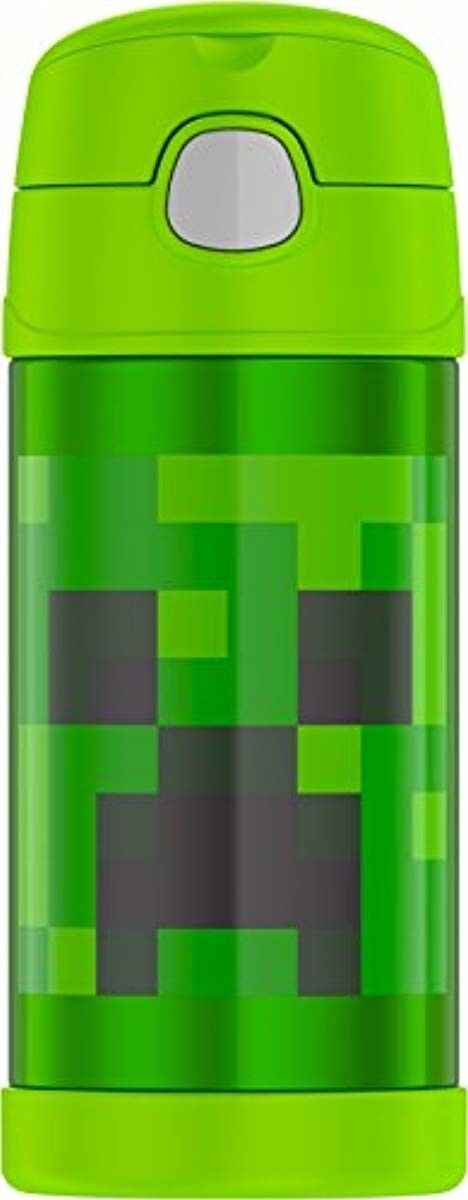 Thermos (F4018MI6) Funtainer 12 Ounce Bottle, Minecraft