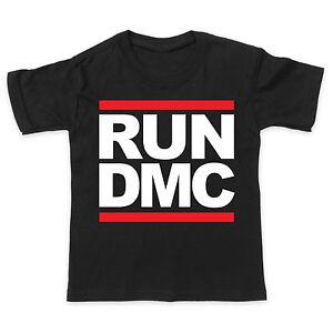 Run dmc logo-HIP HOP RAP MUSIQUE-Bébé / Enfant
