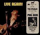 Live Again! [Digipak] by Phil Ochs (CD, Jul-2014, Rockbeat Records)