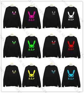 Kpop-B-A-P-Pull-Bap-Sweat-a-capuche-Yong-Guk-Jong-up-lui-Chan-Hoody-Pull-over-Neuf-Cadeau