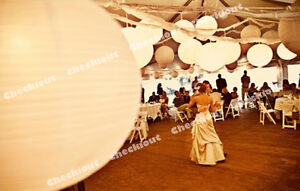 24 pcs mix w led white light round paper lanterns wedding