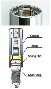 Koken-Spark-Plug-Socket-3-8-034-Drive-16-mm-5-8-034-A-F-Hexagon