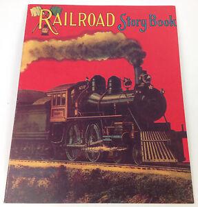 Children-039-s-Story-Book-Railroad-Reproduced-From-Antique-Original-Michigan