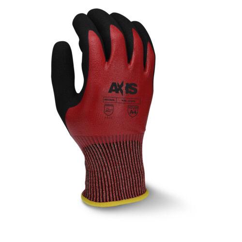 Радианы RWG556 вырезать уровень защиты A4 песчаный Нитрил с покрытием перчатка