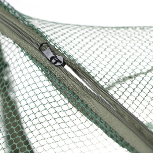 6 Holes Folded Hexagon Fishing Net Casting Crayfish Catcher Fish Trap Mesh  T ff