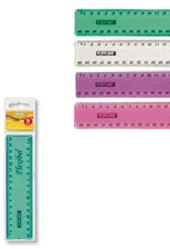 Stylex Lineal 16cm biegsam flexibel pink