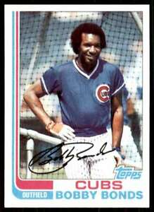 1982 Topps Set Break Bobby Bonds Chicago Cubs #580