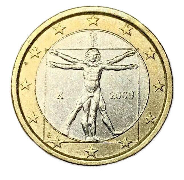 Immagine 1 - 1-EURO-ITALIA-2009-034-L-039-UOMO-034-DI-LEONARDO-DA-VINCI-GIGANTE-7-09-FDC-UNC