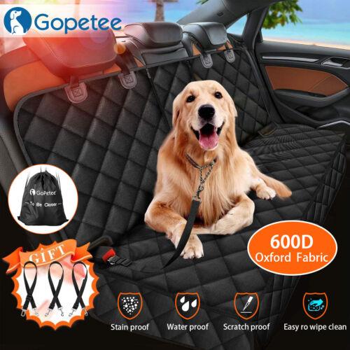 Pet Car Seat Cover Dog Safety Protector Mat Rear Back Seat Hammock Cushion Mat