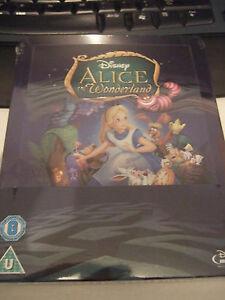 Alice in Wonderland  Zavvi Exclusive Limited Edition Steelbook New amp Sealed - <span itemprop=availableAtOrFrom>Kirkcaldy, United Kingdom</span> - Alice in Wonderland  Zavvi Exclusive Limited Edition Steelbook New amp Sealed - Kirkcaldy, United Kingdom