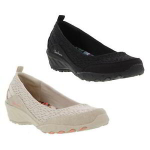 Skechers Relaxed Fit Savvy Winsome Da Donna Infilare Pompe Scarpe Misura UK 48