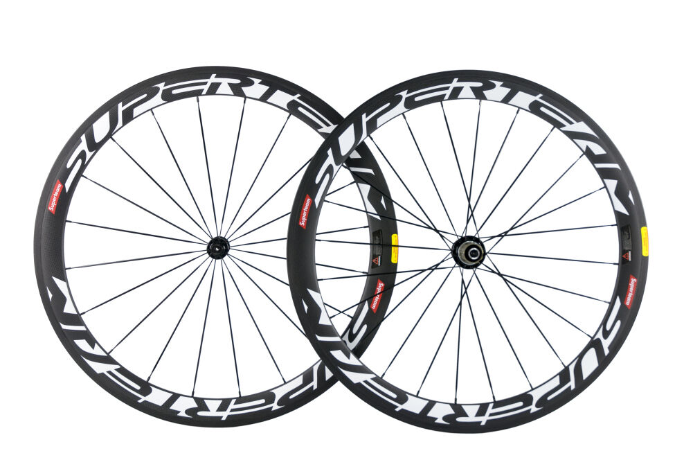 Superteam 50mm Carbon Wheelset Clincher Carbon Fiber  Wheels In USA Warehouse  welcome to order