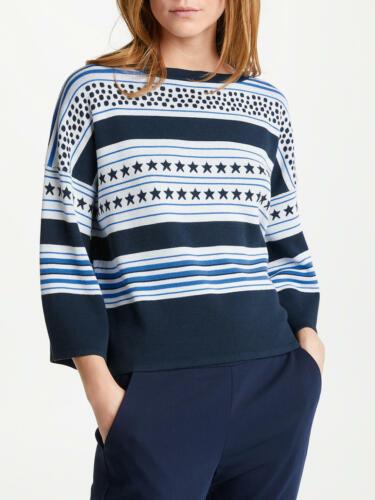 Marella Blue Stars /& Stripes Jumper Size S,M,L,XL was £160