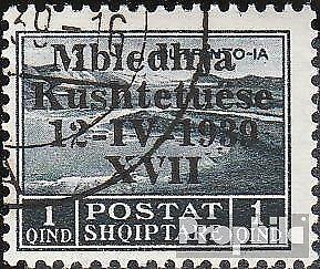 Albanien-284-gestempelt-1939-Verfassungsgebende-Versammlung