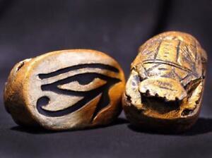 Egyptian EYE OF HORUS Protection SCARAB