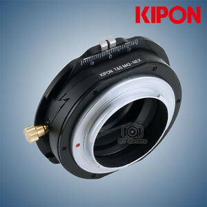 Kipon-Tilt-and-Shift-Adapter-for-M42-Mount-Lens-to-Sony-E-Mount-NEX-Camera