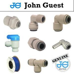1-4-034-John-Guest-Montaggio-Spinta-Raccordi-Per-Tubi-American-Frigorifero-RO-Unita