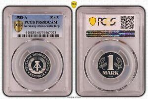 Rda 1 Marco 1988A Pulida Placa PCGS PR68DCAM 53273