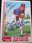 1982 Topps Eddie Whitson #127T Baseball Card