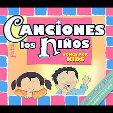 Canciones para los niños 3-CD Brick, Twin Sisters Productions, New Box set, Enh