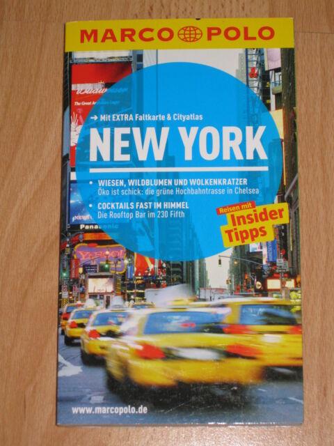 Marco Polo Reiseführer New York mit extra Faltkarte 2014