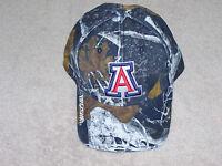 Mothwing Gameday Hat- Arizona - Navy, Brown & White Camo - Frayed Bill