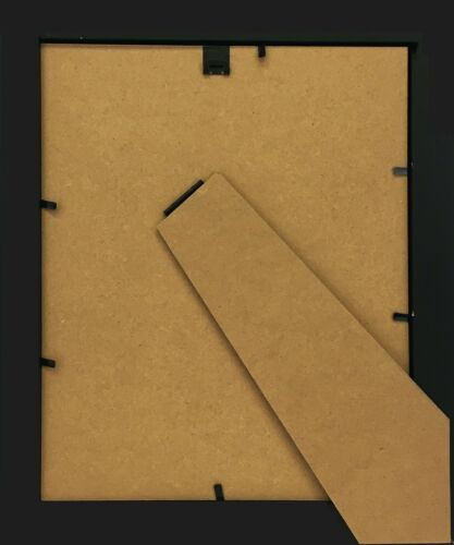 STUDIO 500 6-PACK~8x10-inch Black Wide Picture Frames Mat For 5x7 Photos