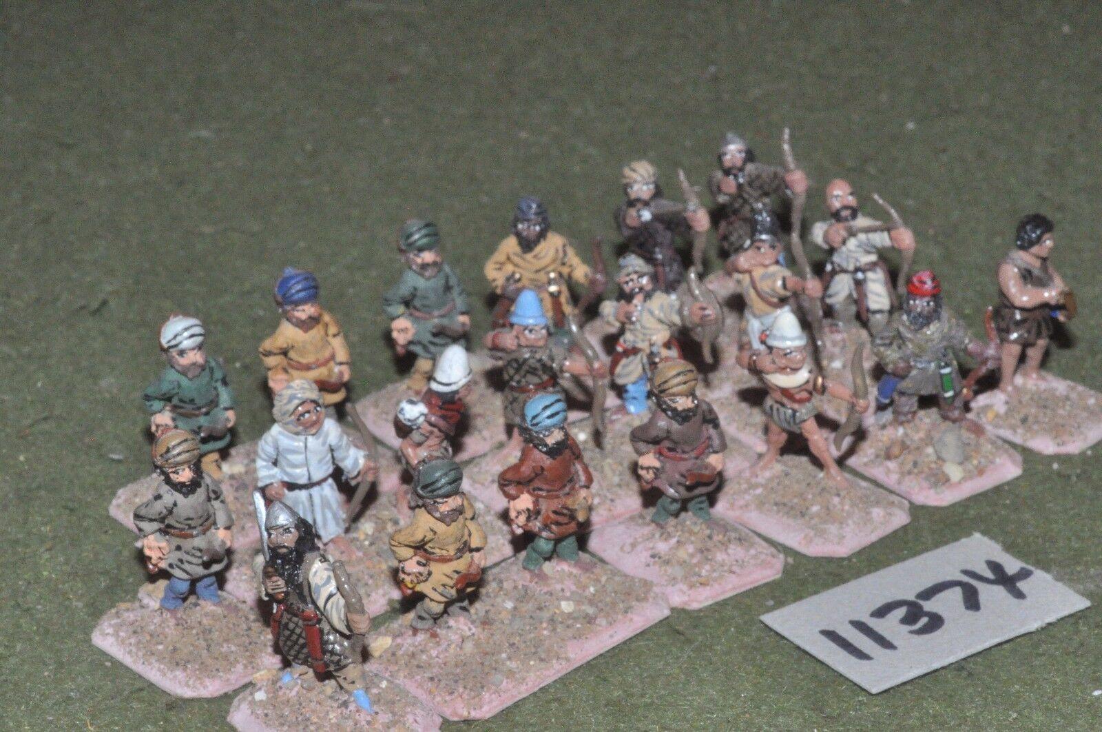 25mm medieval   gasgan - archers 20 figs - inf (11374)
