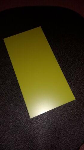 """304 x 152mm G10 FR4 in fibra di vetro resina epossidica foglio 1.55mm spessore. Unclad 12/"""" x 6/"""""""