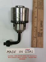 """Jacobs - Usa Made 5/64-1/2"""" Capacity Multicraft Drill Chuck - 1/2-20 Thd Dc8k64"""